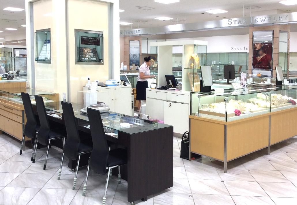 伊勢丹立川店2階アクセサリー|ジュエリーリフォーム&リペアコーナー リクチュリエ